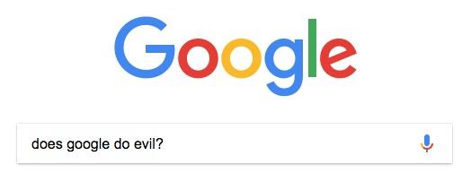 does google do evil?