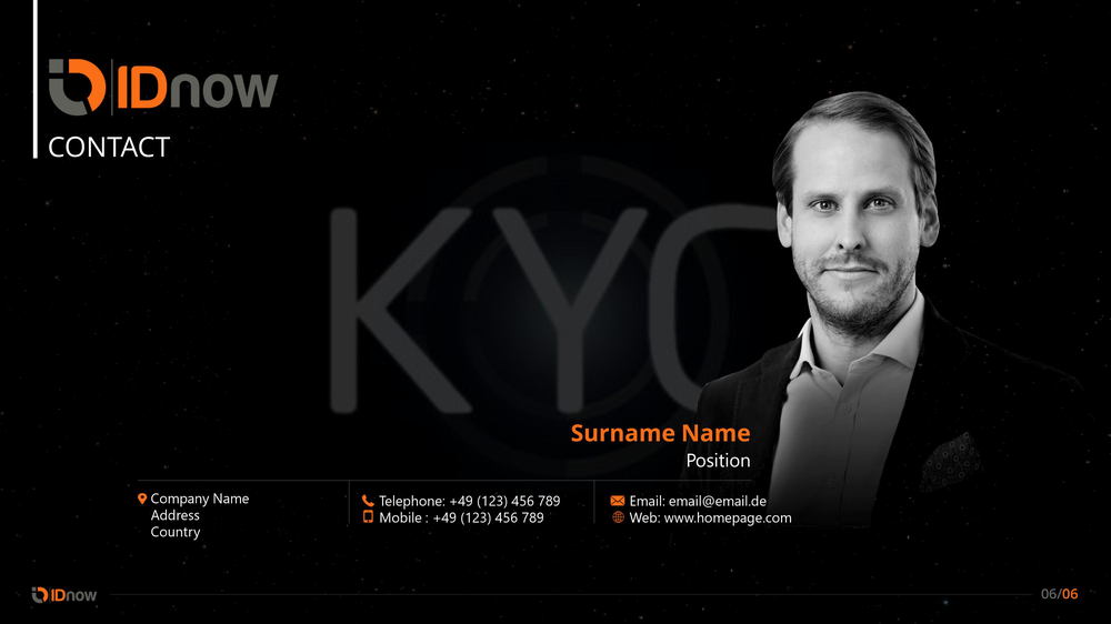 idnow sales presentation