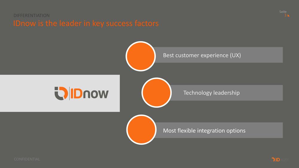 idnow sales presentation before