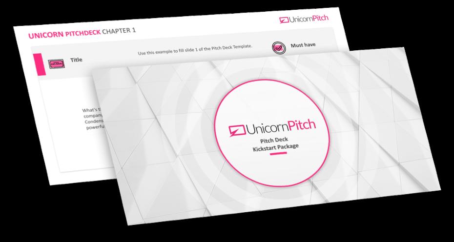 pitch deck kickstart package example