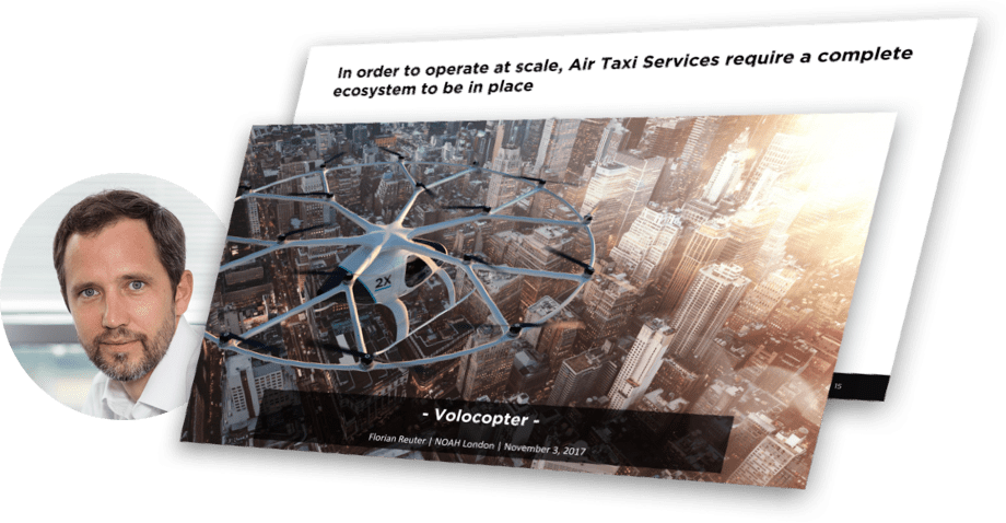 volocopter pitch deck example