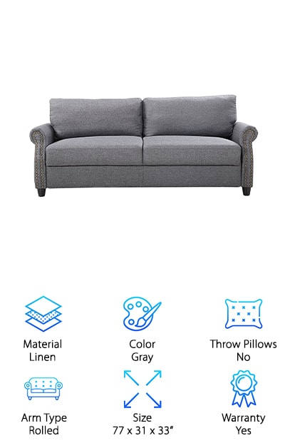 Divano Furniture Linen Sofa