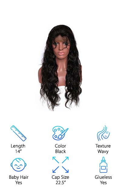 Melon Hair Lace Front Wig