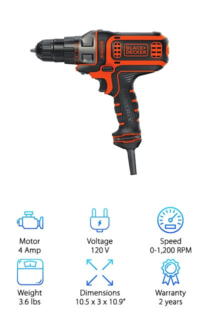 Black & Decker Matrix Drill