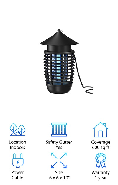 Hoont Indoor Bug Zapper