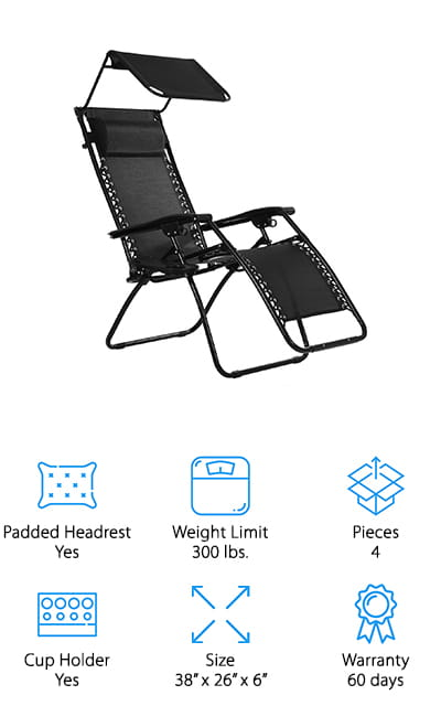 Ollieroo Zero Gravity Chair