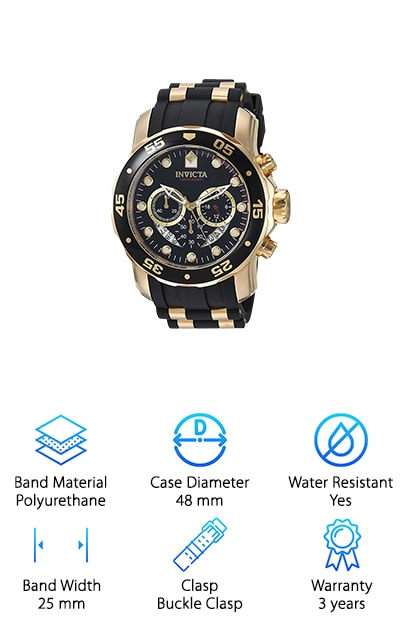 Invicta Pro Diver Swiss Watch
