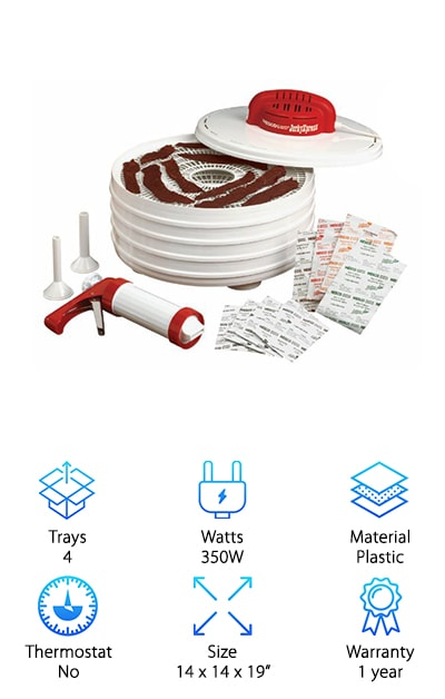 Nesco Jerky Dehydrator Kit