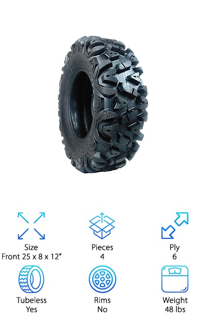 MASSFX  ATV TIRES