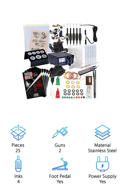 Rehab Ink Complete Tattoo Kit