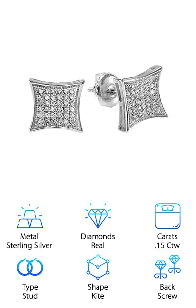 Best Men's Diamond Earrings