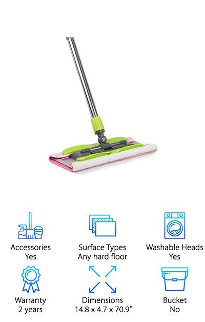 LINKYO Microfiber Floor Mop