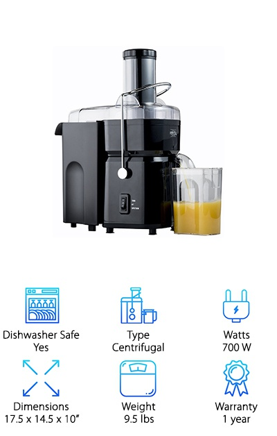 Nutri-Stahl Juicer Machine