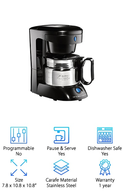 Andis 4-Cup Coffeemaker