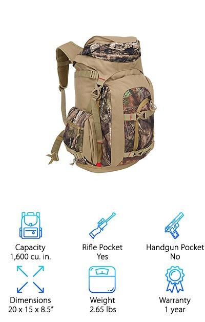 Fieldline Mossyoak Backpack