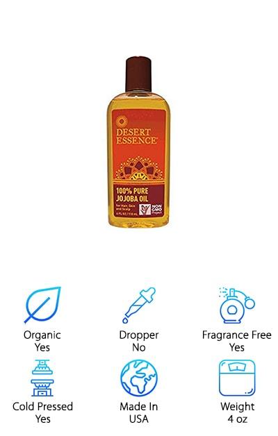 Desert Essence Jojoba Oil