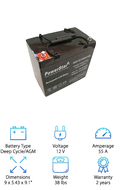 PowerStar Deep Cycle Battery