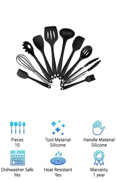 Cofunia Silicone Utensils