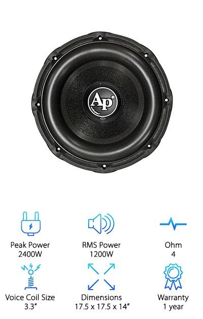 Audiopipe TXXBD315