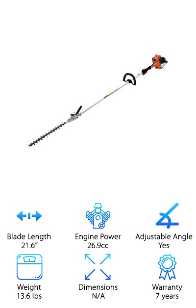 Tanaka 92-Inch Hedge Trimmer