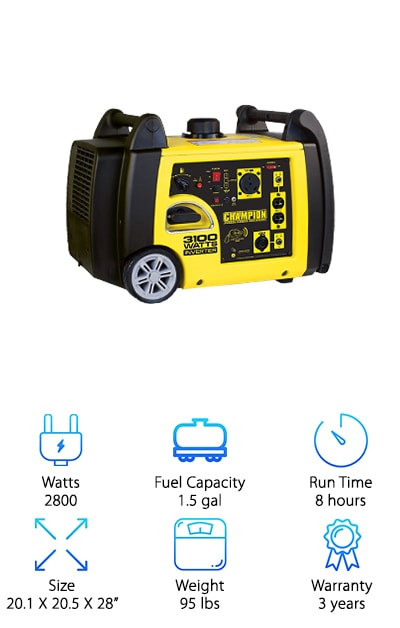 Best Generators for RVs