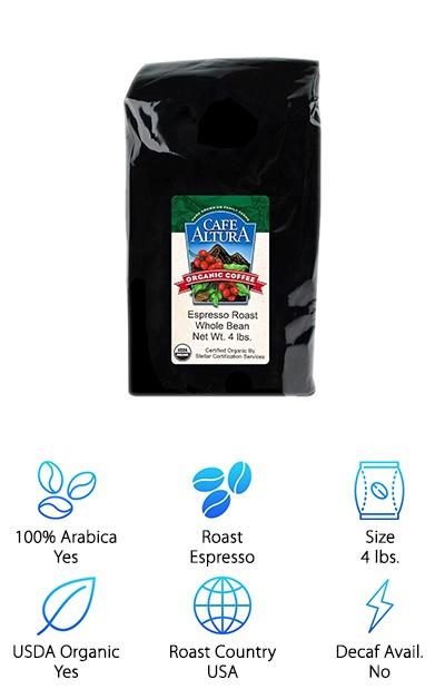 Cafe Altura Organic Espresso
