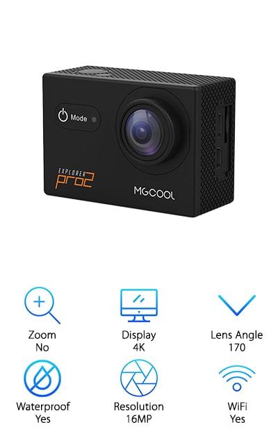 MGCool Pro2 Action Camera