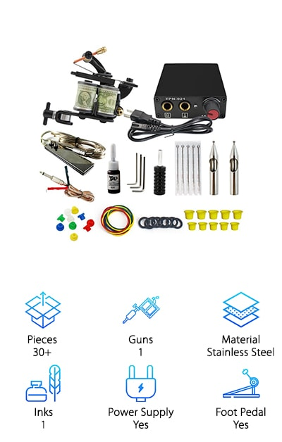 ITATOO Tattoo Kit for Beginners