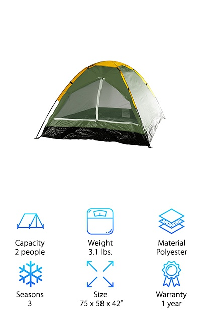 Wakeman Outdoors Happy Camper