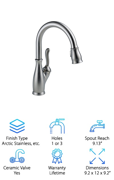 best pull down kitchen faucets review top 10 picks rh geekwrapped com  best pull down kitchen faucets