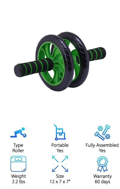 Forged Premium Ab Wheel