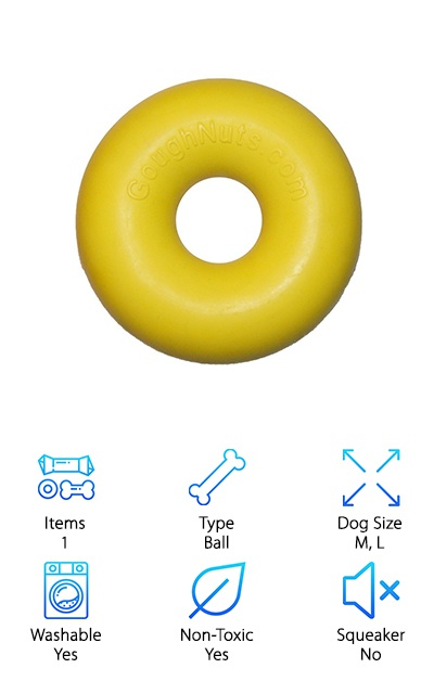 Goughnuts Dog Chew Ring