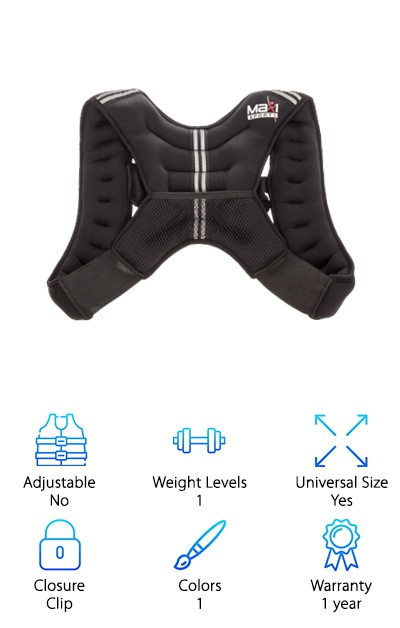 Maxi Climber Weight Vest
