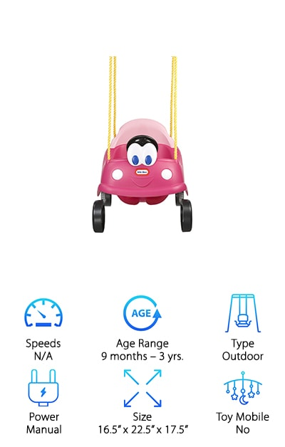 Little Tikes Princess Cozy Swing