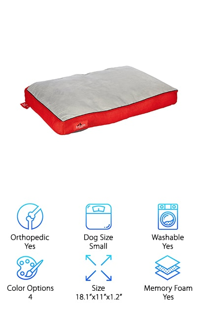 BRINDLE Soft Dog Bed