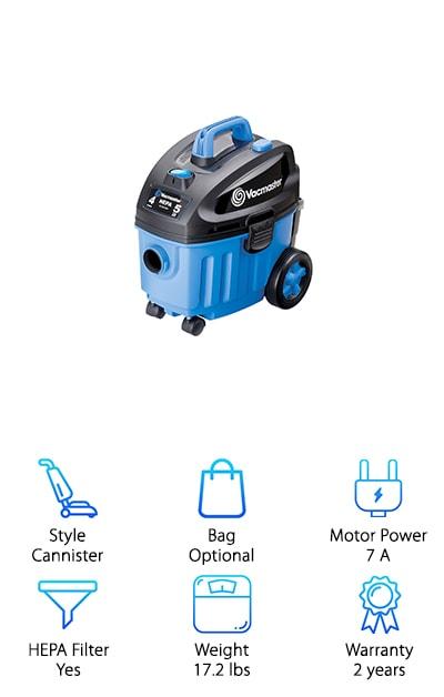 Vacmaster Floor Vacuum