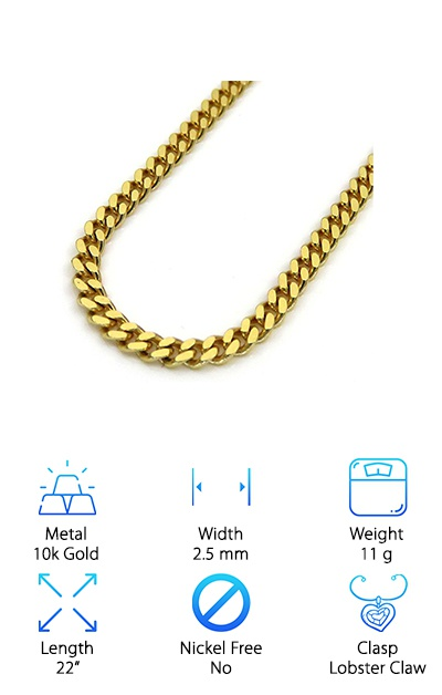 Jawa Fashion 2.5mm Cuban Link