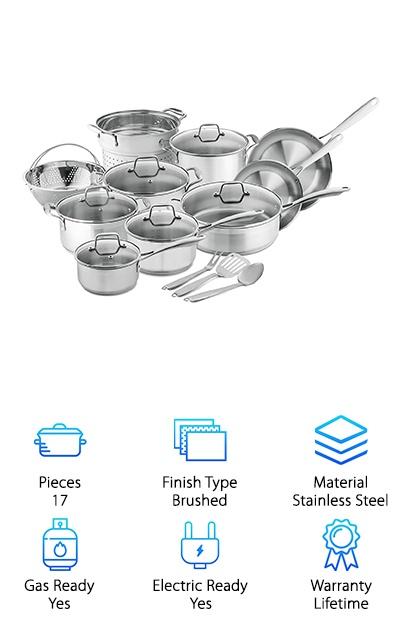Chef's Star Pots & Pans Set