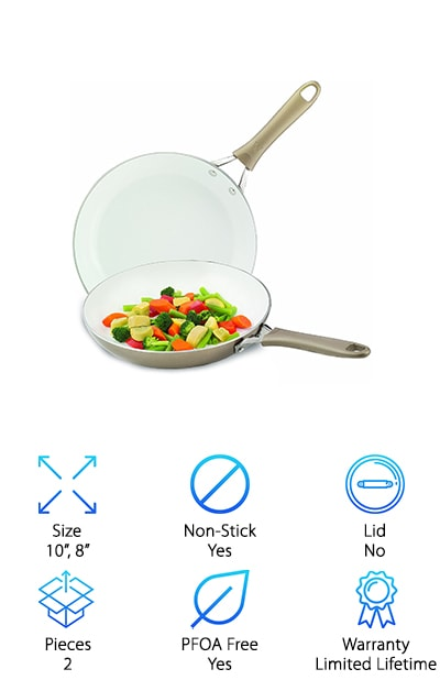 WearEver Frying Pan Set