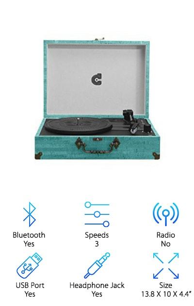 CMC Portable Turntable