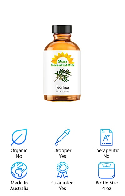 Sun Organic Tea Tree Oil