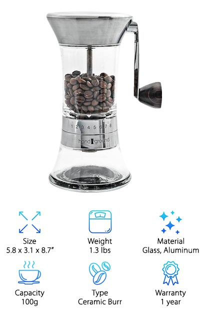 manual hand coffee grinders top 10 picks rh geekwrapped com baratza encore coffee grinder manual starbucks barista burr grinder manual