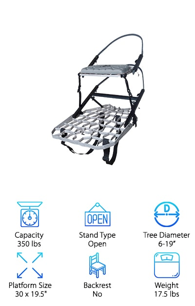 Lone Wolf Hand Tree Stand