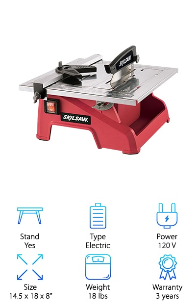 SKIL 3540-02 Wet Tile Saw