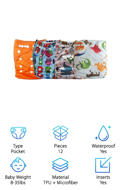 LBB Baby Cloth Diapers