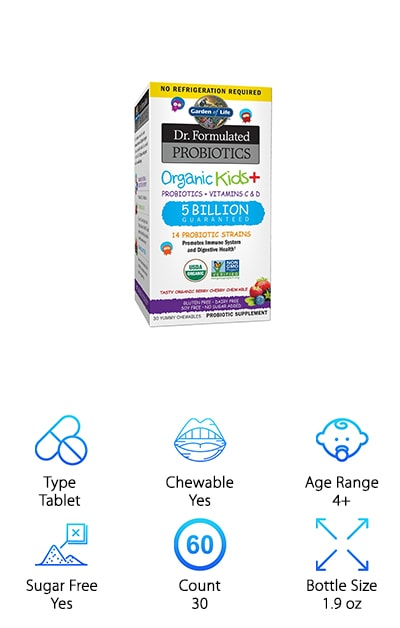 Dr. Formulated Probiotics for Kids