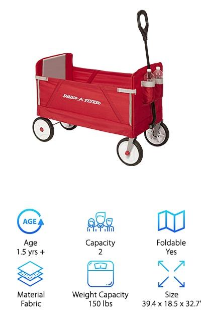 Radio Flyer EZ Fold Wagon