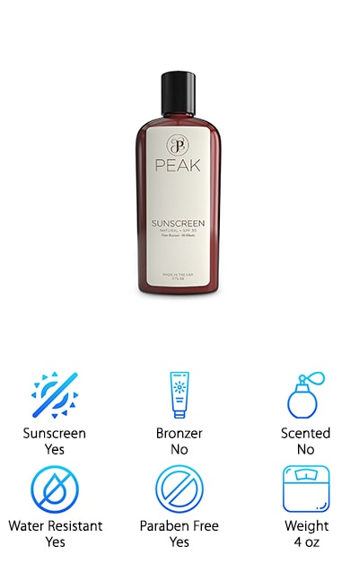Peak Mineral Sunscreen
