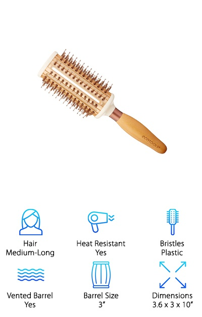 Ecotools Hairbrush for Medium-Long Hair