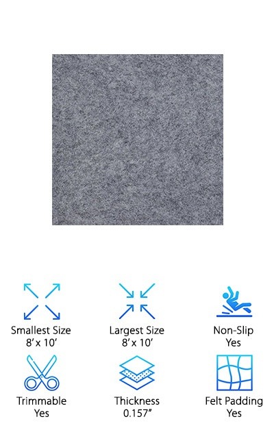 10 Best Rug Pads For Hardwood Floors 2019 Buying Guide